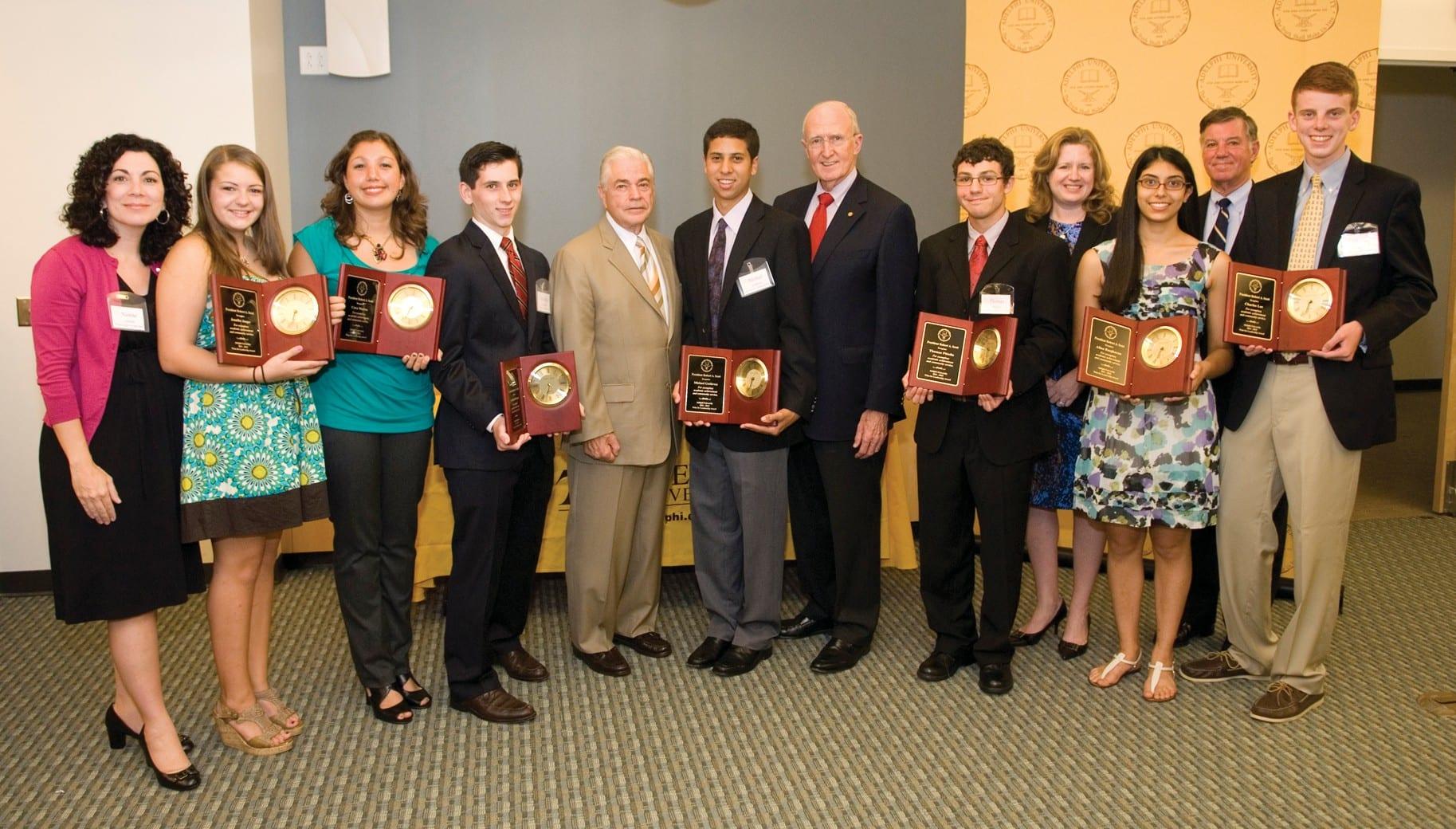 Adelphi Honors Garden City High School Students | Garden City News